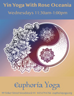 Yin Yoga with Rose Oceania